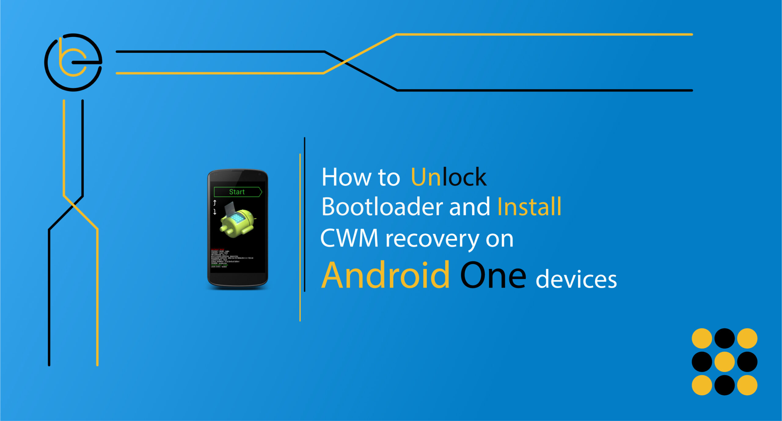 Unlock Bootloader And Install CWM Recovery